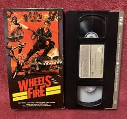 Wheels Of Fire Mad Max B-movie Copy Vestron Video Vhs Cult 1984 Rare Oop Cool