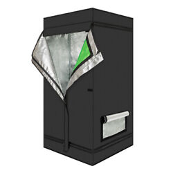 24and039and039x24and039and039x48and039and039 Mylar Hydroponic Grow Tent For Indoor Plant Growing 2and039x2andlsquox4andlsquo