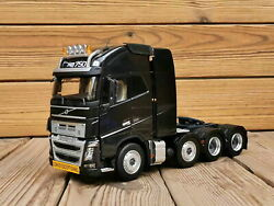 1/32 Scale Volvo Fh16 750 Heavy Duty Truck Tractor Black Diecast Model Toy Model