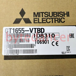 1pc New Mitsubishi Display Screen Gt1655-vtbd 1 Year Warranty Fast Delivery