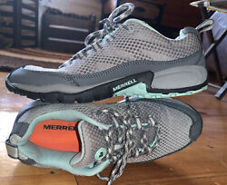 Merrell Wild Dove Womens Athletic Shoes Hiking Trail Outdoor Boots Gray Size 8
