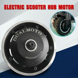 52v 1000w For 10inch Electric Scooter Front And Rear Drive Hub Motor Power Kit