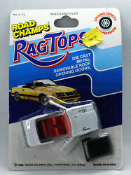 Road Champs Rag Tops White Buick Riviera Convertible W/ Top Opening Doors Read