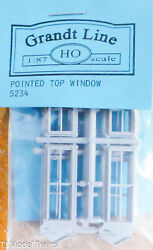 Grandt Line Ho 5234 Windows, Pointed Top 30x86 8 Plastic Parts 187th