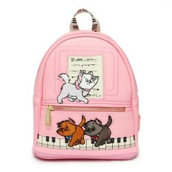[loungefly] Marie Berlioz Toulouse Mini Backpack Piano Aristocats From Japan