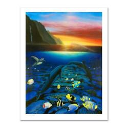 Kiss For The Sea Limited Edition Giclee On Canvas