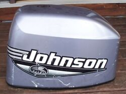 2000 Johnson 35 Hp Outboard Hood Cowling Cover Shroud Electric Start