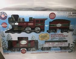 Lionel Trains North Pole Central Ready To Play Battery Power Train Set Open Box
