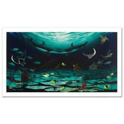 Loving Sea Limited Edition Giclee On Canvas 42 X