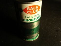 Bala Club Pale Dry Ginger Ale Flat Top Soda Can, Bottom Opened, Version 2