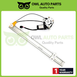 Rear For 2002-2007 Jeep Liberty 3.7l Passenger Power Window Regulator With Motor