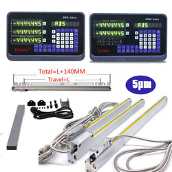 Us Digital Readout 2axis/3axis Dro Display Linear Scale Glass Sensor Cnc Mil 5andmicrom