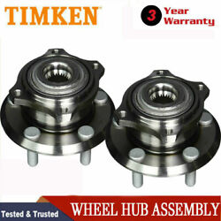 Awd Front And Rear Timken Wheel Bearing Pair For Chrysler 300 Dodge Magnum Charger