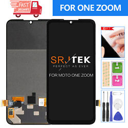For Motorola Moto One Zoom Lcd Display Pro Xt2010 Screen Replacement Touch Kits