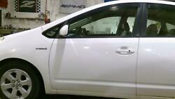 04-09 Toyota Prius Driver/left Front Oem Door Assembly White