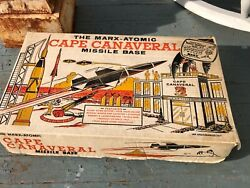 Unused Nib Marx Atomic Cape Canaveral Missile Base Parts And Accessories 1950s Wow