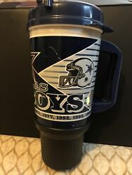 Vintage Dallas Cowboys Super Bowl Championships Whirley Drink Works Cup