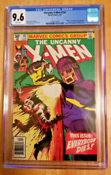 X-men 142 Cgc Graded 9.6 White Pages Newsstand Days Of Future Past
