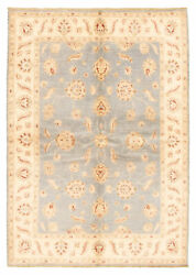 Hand-knotted Carpet 5and0397 X 7and0397 Traditional Vintage Wool Rug