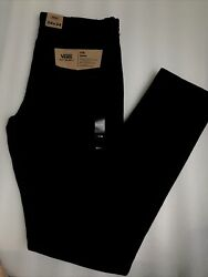 Nwt Men's Size 34/34 V76 Skinny Fit Black Jeans Off The Wall Nwt