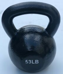 Brand New 50-100lb Cast Iron Kettle Bells Weight For Commercial Gym Cross Fit