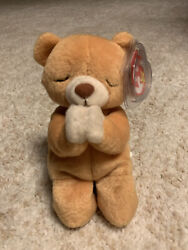 Ty Beanie Baby Hope Prayer Bear 1998 In New Condition With Tag Errors
