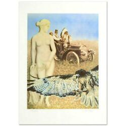 Hopelessly Watching Limited Edition Lithograph By