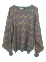 Justin Blake Sweater Knit Pull Over Men#x27;s Size XL Green Red Yellow $23.44