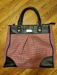 Jessica Simpson tote Red grey And Black Nice $25.00