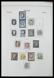 Lot 33205 Stamp Collection Portugal 1853-1982.