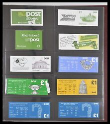Lot 33313 Stamp Booklet Collection Ireland 1974-2004.