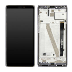 For Coolpad Legacy 3705 Cp3705a 3705a 2019 Lcd Screen Touch Digitizer +frame
