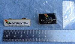 Pin Badge South African Airways Airlines Aviation Star Alliance Flag Carrier