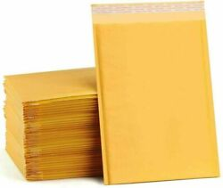 Any Size Kraft Bubble Mailers Shipping Mailing Padded Brown Envelopes Self Seal-