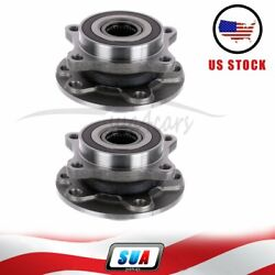 Pair Of 2 Fit For Dodge Dart 2013-2016 Front Wheel Hub And Bearing Assembly New