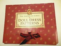 Vtg 1990 The American Girls Doll Dress Patterns Mollyand039s Pretty Clothes