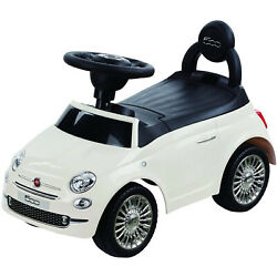 Best Ride On Cars Baby Toddler Fiat 500 Model Push Car Riding Toy Vehicle White