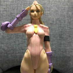 Capcom Girls Collection Street Fighter Cammy Pink Figure Used Japan Rare