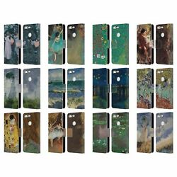 Official Masters Collection Paintings 2 Leather Book Case For Google Phones