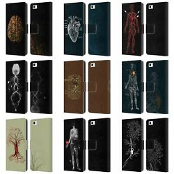 Official Tobe Fonseca Anatomy 2 Leather Book Wallet Case For Huawei Phones 2
