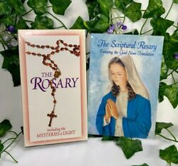 The Rosary Vhs And Booklet - The Scriptural Rosary And Mysteries Of Light Sealed