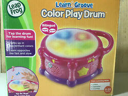 Bilingual Leap Frog Learn And Groove Color Play Drum 6 - 36 Months - Pink And Purple
