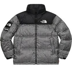 Supreme / The Tnf Studded Nuptse Jacket-in Hand-size L