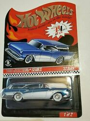 Hot Wheels Rlc 2010 Selections Series 57 Buick Wagon In Spectraflame Ice Blue