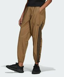 Adidas Womenand039s Track Pants Athletic Sports Gym Leg Run Joggers Pant Brown Gn4274