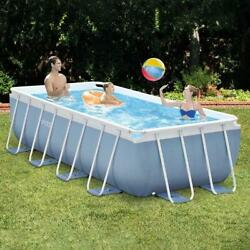 Family Bracket Swimming Pool Metal Frame Steel Tube Thicken Home Large Pools