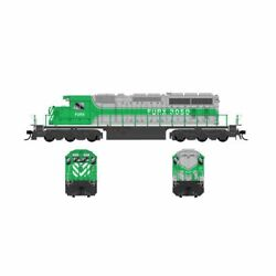 Bowser First Union Gmd Sd40-2 25057 Road 3050 Dcc Ready
