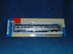 Walthers Ho Scale 932-6506 85and039 Budd Tavern Observatio Pennsy Lit W/passengers