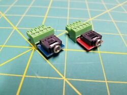 Extron Phoenix Audio Adapters Crosspoint 3.5mm Phono Aux Trs Rgb Pvm Connector
