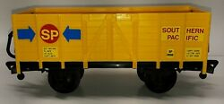 Echo The Classic Rail Train Yellow Caboose Freight Car G Scale Toy Train